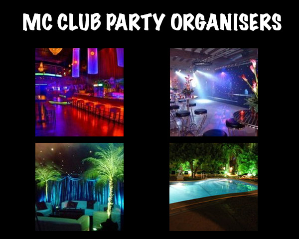 MC Club –Party Organisers